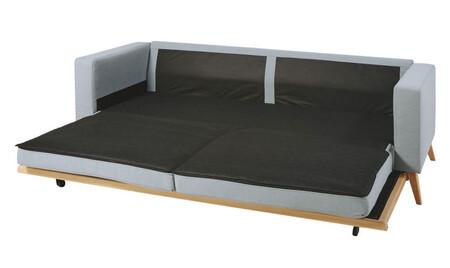 Sofa Cama De Estilo Escandinavo De 3 Plazas Azul Glaciar 1000 5 38 186342 7