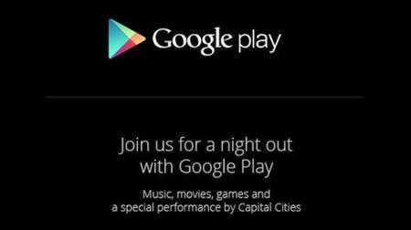Una noche con Google Play