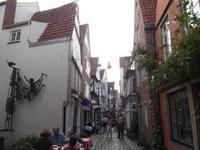 El barrio de Schnoor de Bremen