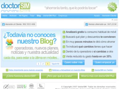 Revisamos Doctorsim, un servicio web para ahorrar en facturas de móvil