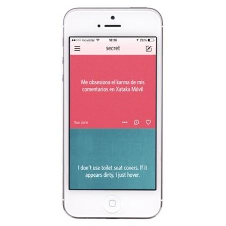 Secret, la app de las confesiones anónimas, llega a Android y se internacionaliza