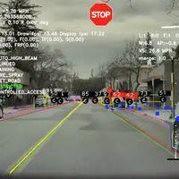 La carretera a ojos del Autopilot de Tesla: esto es todo lo que capta su sistema de conducción autónoma