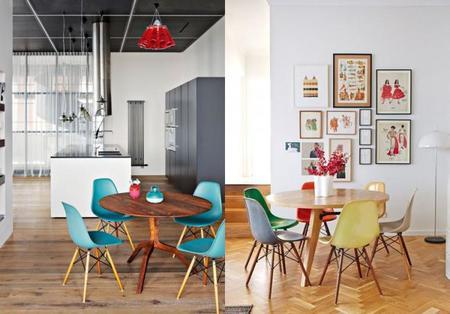ideas de cómo decorar tu comedor con una mesa redonda