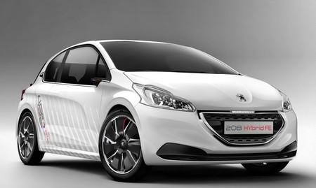 Todo sobre el Peugeot 208 HYbrid FE concept