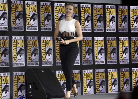 Scarlett Johansson Comic Con 2019