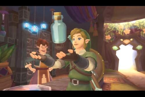 Dónde encontrar las botellas vacías en Zelda: Skyward Sword HD