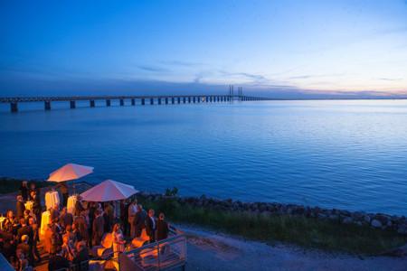 Puente De Oresund Frontera Dinamarca Suecia