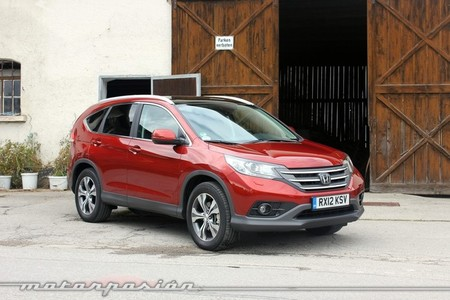 Honda CR-V, vista frontal 3/4