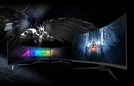 GIGABYTE presenta nuevo monitor gaming, es el AORUS CV27Q y llega repleto de tecnologías