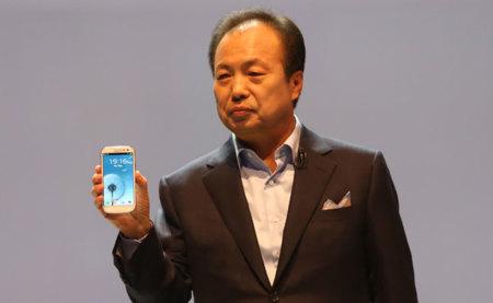 Samsung Galaxy S3 en mano