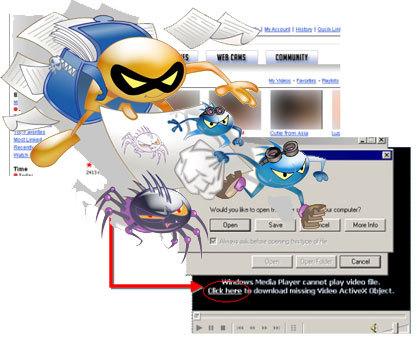 Tendencias del malware para 2009: Internet como plataforma de infección
