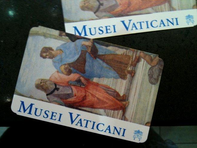 comprar billetes Museos Vaticanos por internet