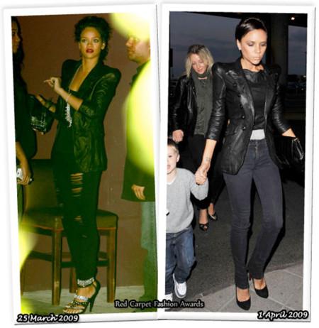 Conjunto de Balmain: ¿Rihanna o Victoria?