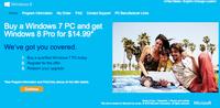 Tu actualización a Windows 8 por sólo 199 pesos