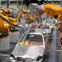 General Motors está conectando los robots de sus fábricas a internet y ya comienza a cosechar beneficios