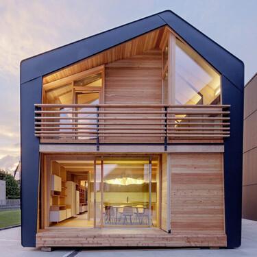 Siete casas prefabricadas que pueden inspirar la vivienda de tus sueños en la playa o en el campo