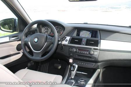 BMW X5 4.0d xDrive interior