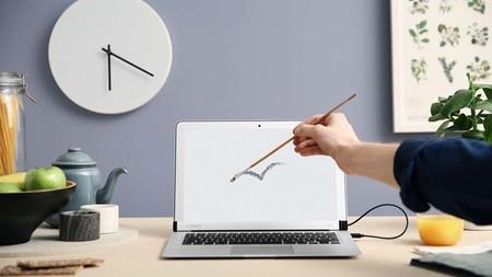 AirBar, el dispositivo que convierte en táctil la pantalla de la MacBook Air