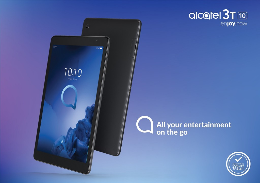 Alcatel 3T 10: pantalla de 10 pulgadas y alta-voces frontales para una inmersión total