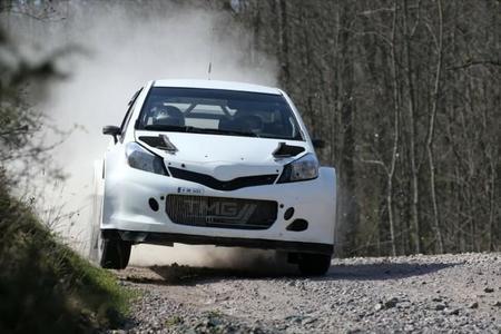 Test Toyota Yaris Wrc