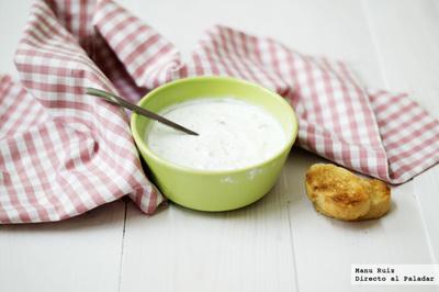 Tzatziki, salsa griega de yogur y pepino. Receta Thermomix