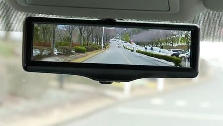 Nissan comercializará el espejo retrovisor inteligente a partir del año que viene
