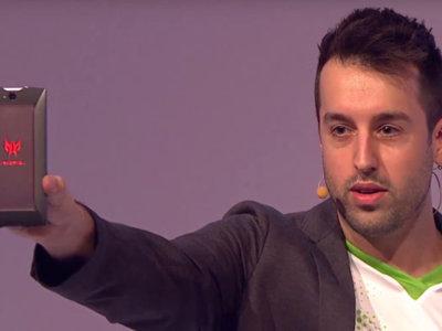 Acer presentó el Predator 6, un smartphone para gamers