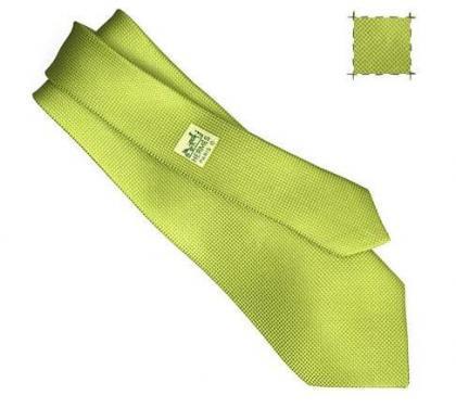 Escaparate de corbatas Hermès 2008 (I): las Lisas