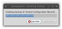 YourGnome: crear copias de seguridad del escritorio Gnome