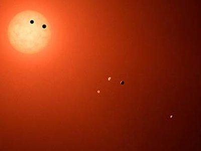 En Trappist-1, solo uno de los planetas podría albergar vida