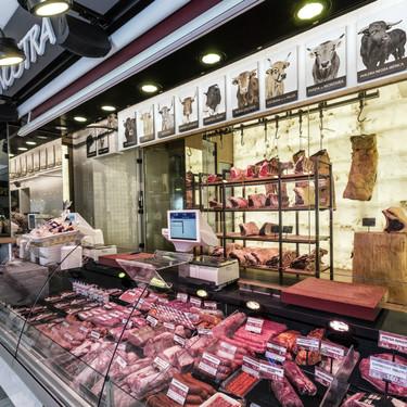 Una carnicería - museo en el Mercado de Chamartín hace homenaje a las razas de vacuno en peligro de extinción