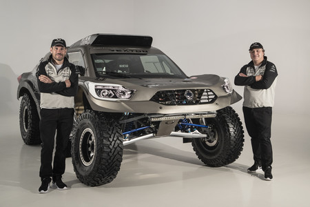 SsangYong Rexton DKR 2019 frontal Óscar Fuertes y Diego Vallejo