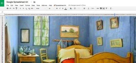 Excel también sirve para crear pixel art