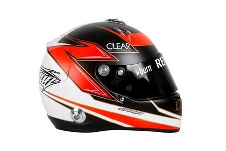 Cascos para la temporada 2013: Kimi Räikkönen y Romain Grosjean
