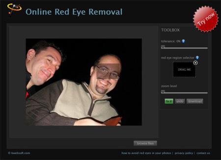 Fixredeyes, elimina los ojos rojos de tus fotografías