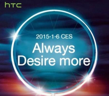 HTC ya tiene listos sus nuevos equipos de la gama Desire y los conoceremos en CES 2015