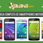 Así queda el catálogo completo de smartphones Motorola