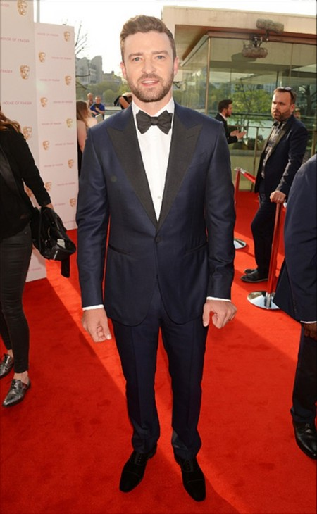 Justin Timberlake House Of Fraser British Academy Television Awards 2016