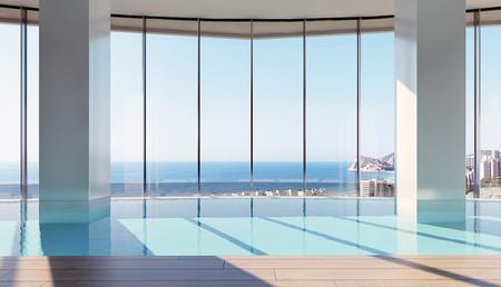 El nuevo rascacielos de Benidorm tendrá una piscina con vistas al Mediterráneo en la planta 26