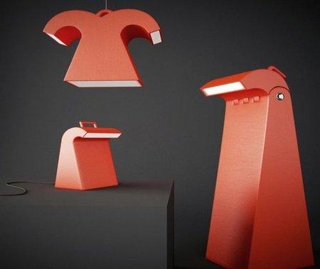 Save the penguins, colección de lámparas por una buena causa