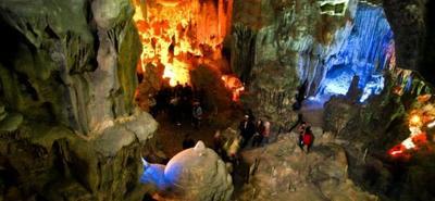 La cueva Dunmore, en Irlanda