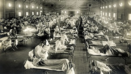 Así es la crisis del coronavirus comparada con la de la gripe española