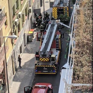 Las cocinas fantasma más grandes de Madrid sufren un incendio antes siquiera de comenzar a operar