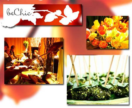 beChic, el catering que se integra a la perfección en los eventos de lujo