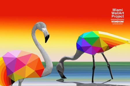 Okuda San Miguel llenará de color la fachada del nuevo showroom de Vondom en USA