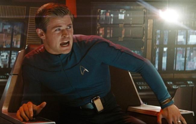 Chris Hemsworth en Star Trek