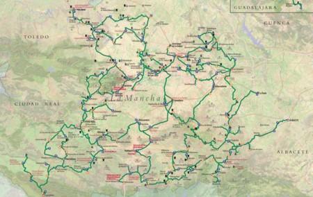 Mapa Ruta Don Quijote
