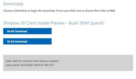 Descargar Windows 10 Insider Preview