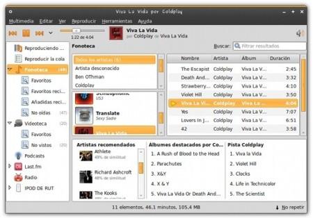 Banshee 1.4, nuevas funcionalidades y ahora también versión para Mac