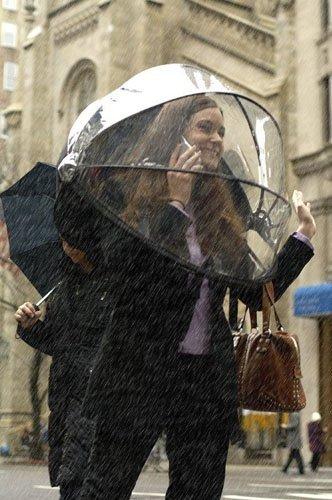Nubrella: un paraguas sin mango